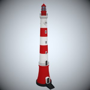max lighthouse modeled