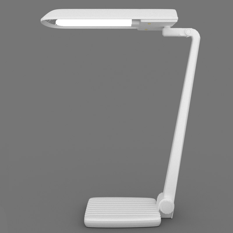 simple table lamp 3d 3ds