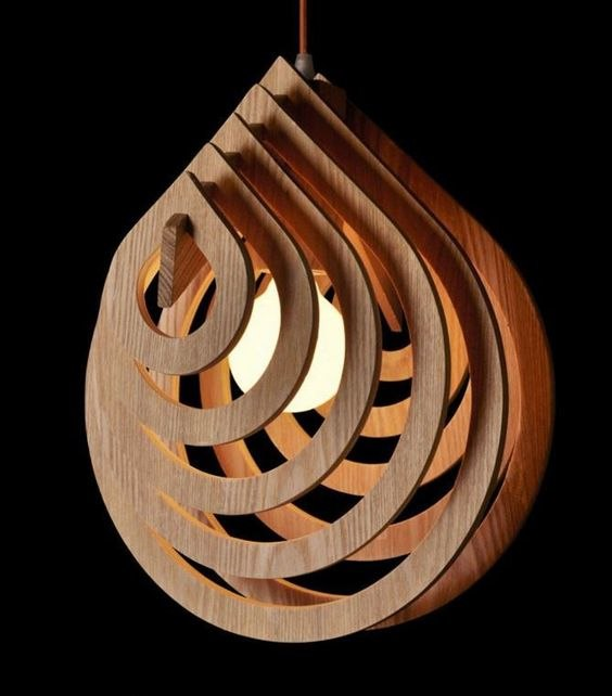 wood lamp drops max