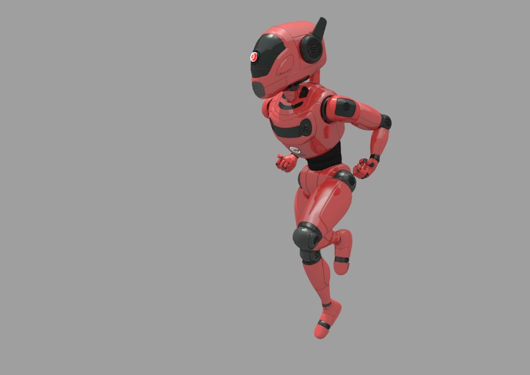 robot concept obj