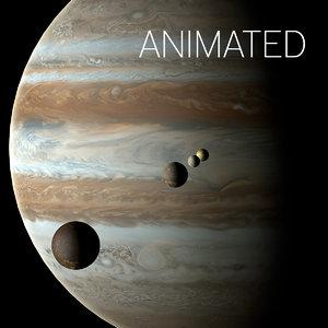 3d jupiter moons