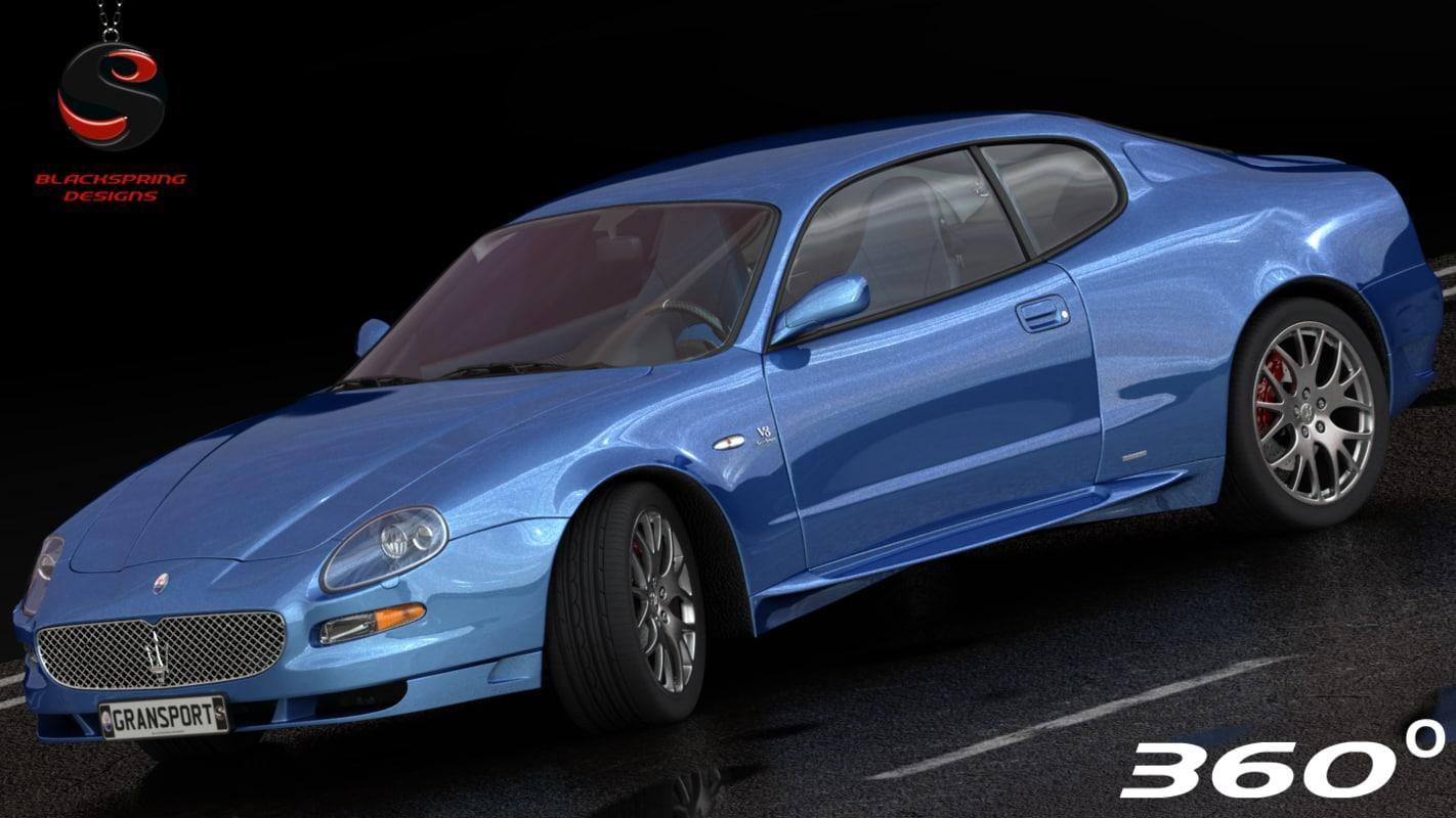 3d maserati gransport 2006 model