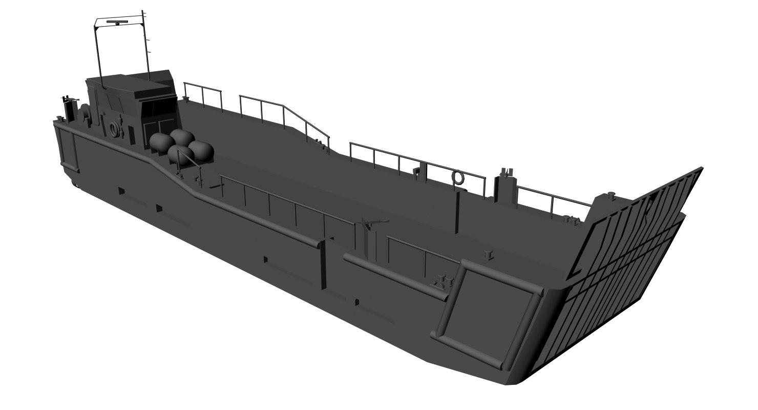 3d model lcu mk-10