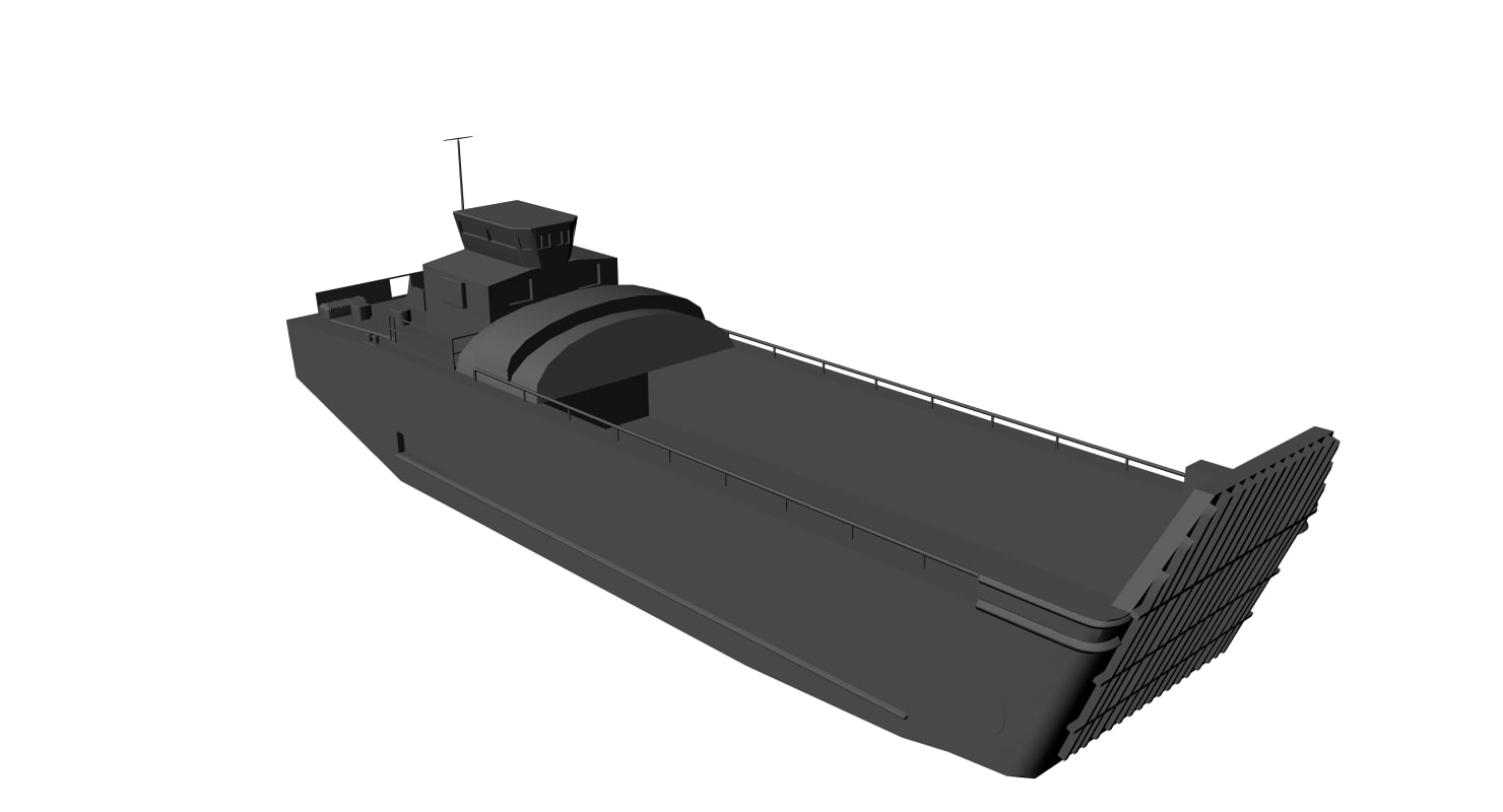3d model lcu mk-9s