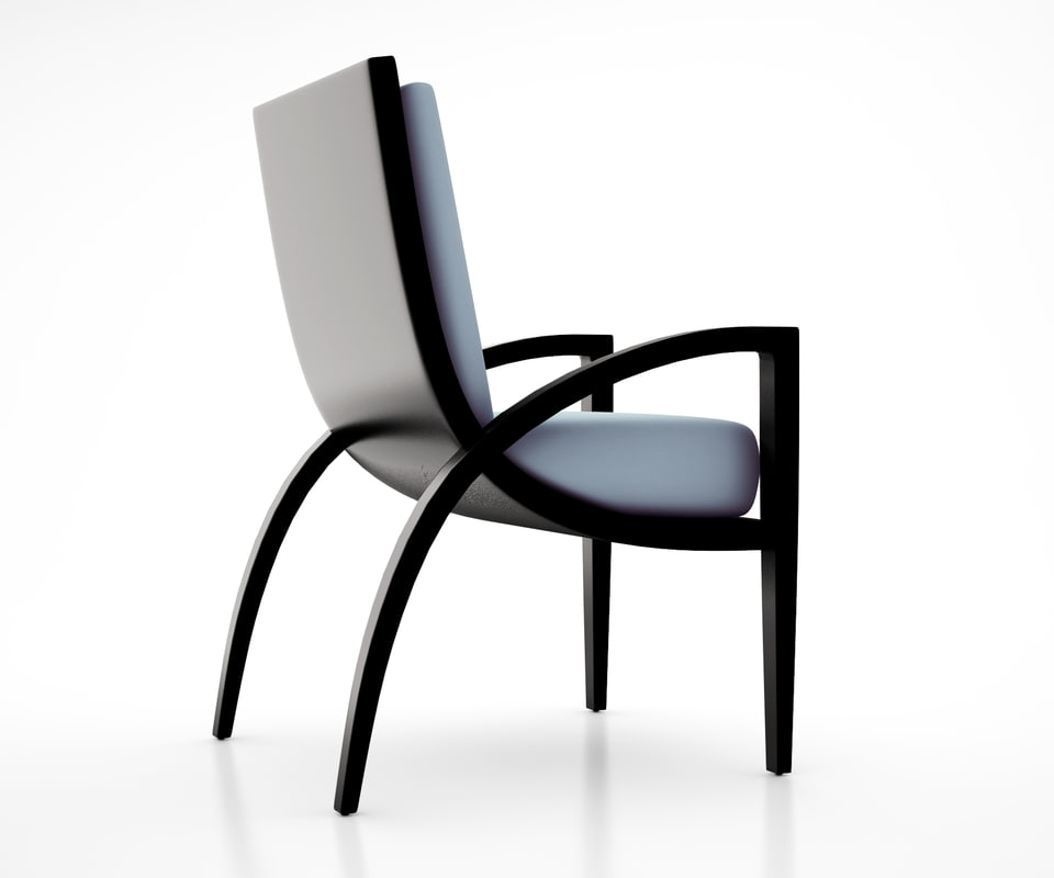 3d spider chair homer