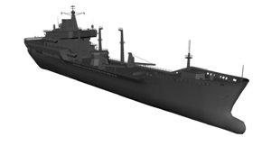 wave class tanker 3d model