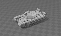 3d model russian tank ud