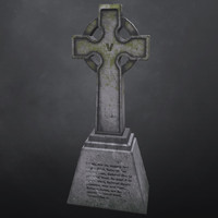 3d concrete cross model