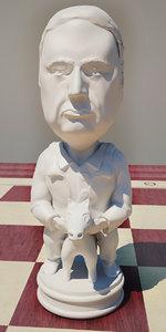 3d model chess zhirinovsky