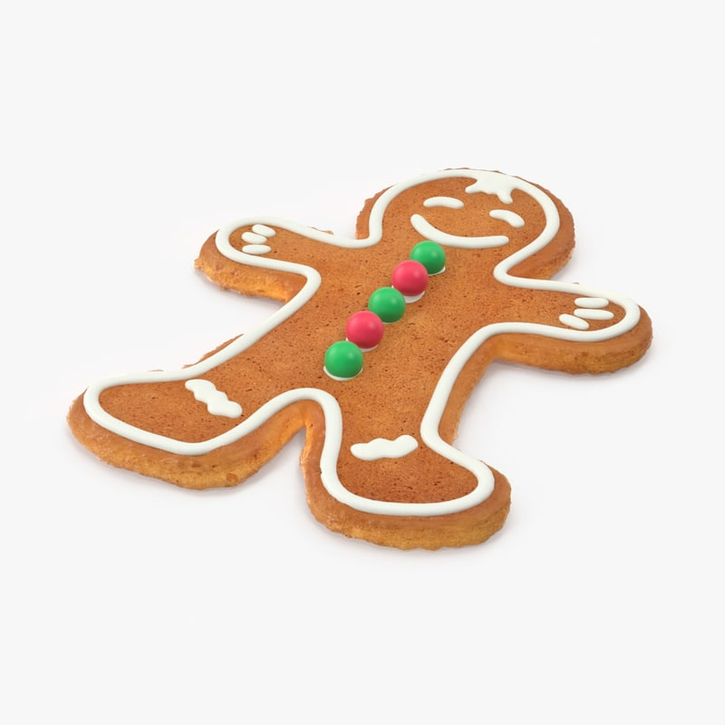 gingerbread man red green max