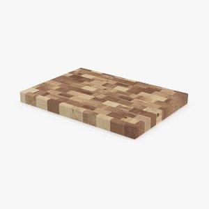 butcher-block-chopping-board-1 3d max