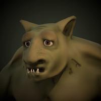 forest troll 3d model