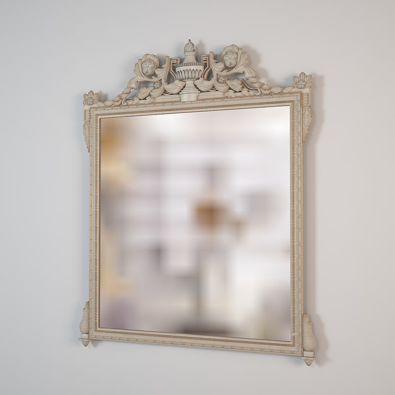 salda mirror 8540 3d max