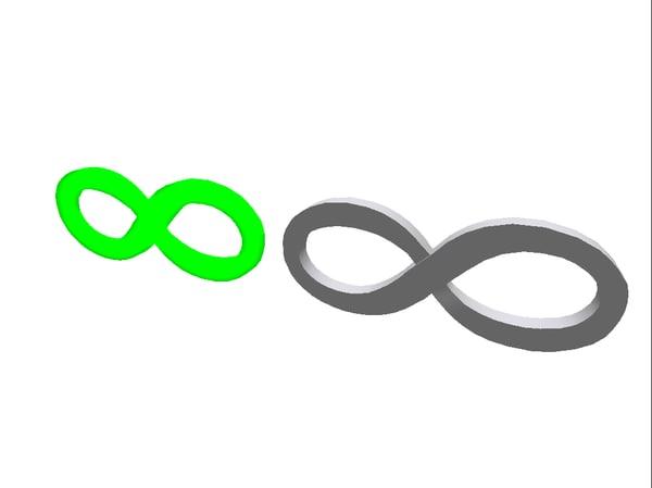 3ds infinity symbol