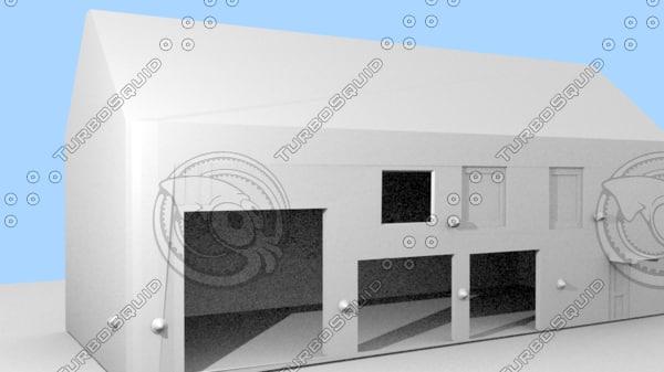 3d model firestation