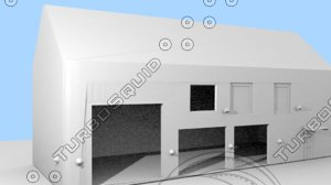 3d model firestation