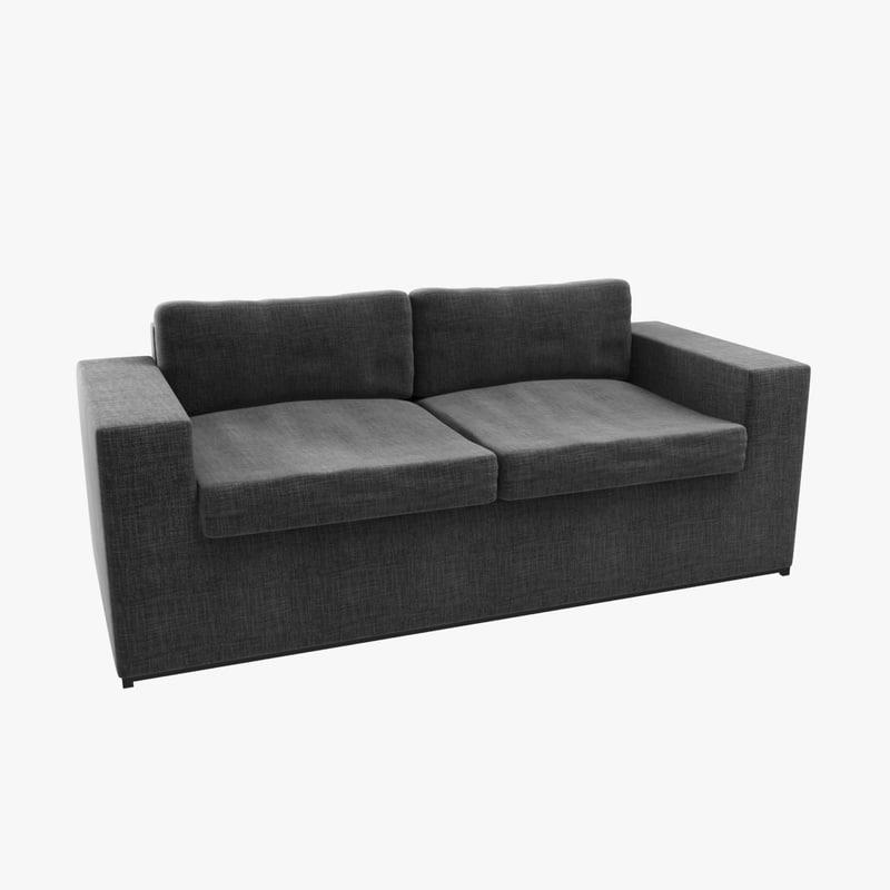 sofa custom 3d model