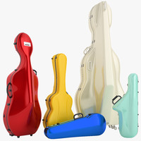 Music Instruments Case Collection 01