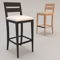 Archipel Barstool by Christian Liaigre