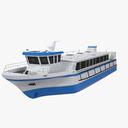 tourist boat 3D models