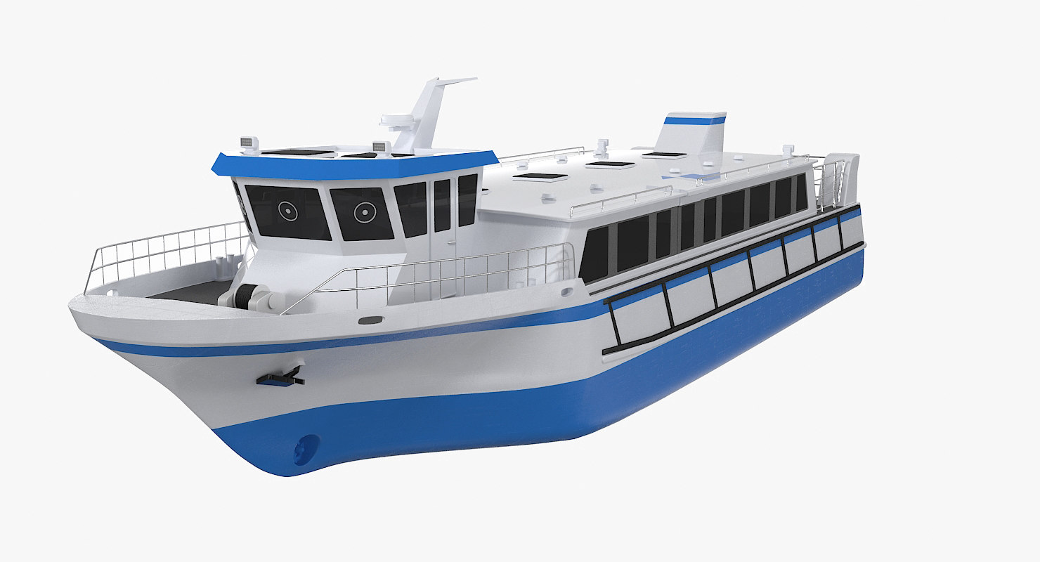 3d model water taxi