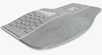 3d model realistic microsoft surface ergonomic