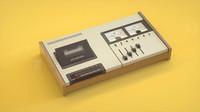 retro music 3d model