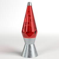 lava lamp 3d model
