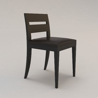 archipel chair christian liaigre 3d model