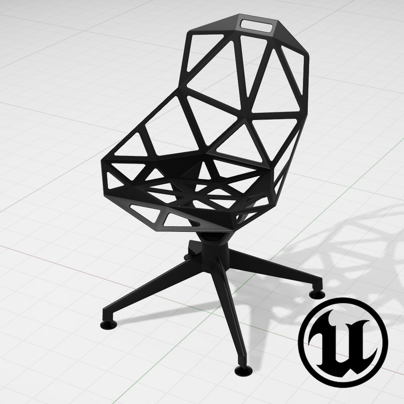 unreal konstantin grcic chair 3d 3ds