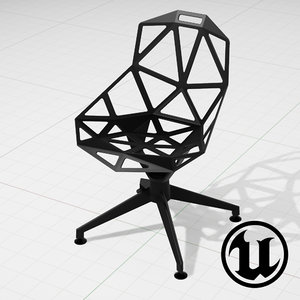 unreal konstantin grcic chair 3d 3ds