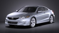 3d model honda accord 2012
