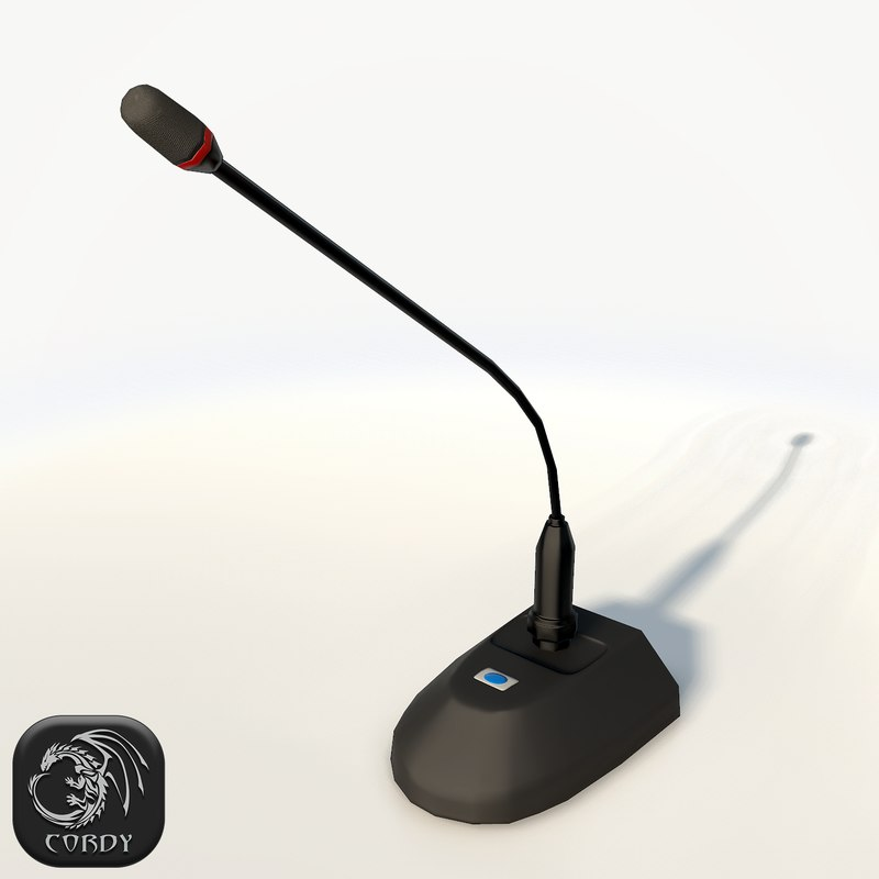 microphone ready games 3d model
