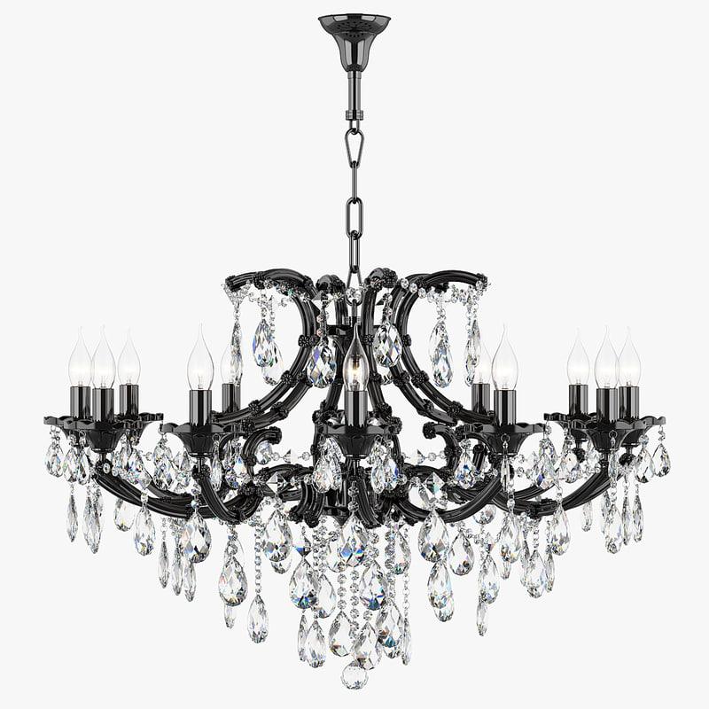 chandelier 879127 md18054-12 champanero max