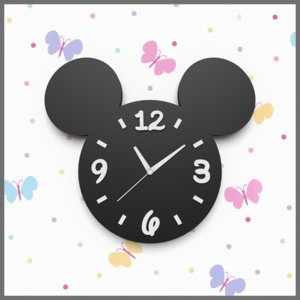 mickey mouse wall clock 3ds