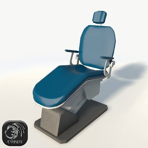 3d model dentist chair