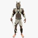 warrior 3D models