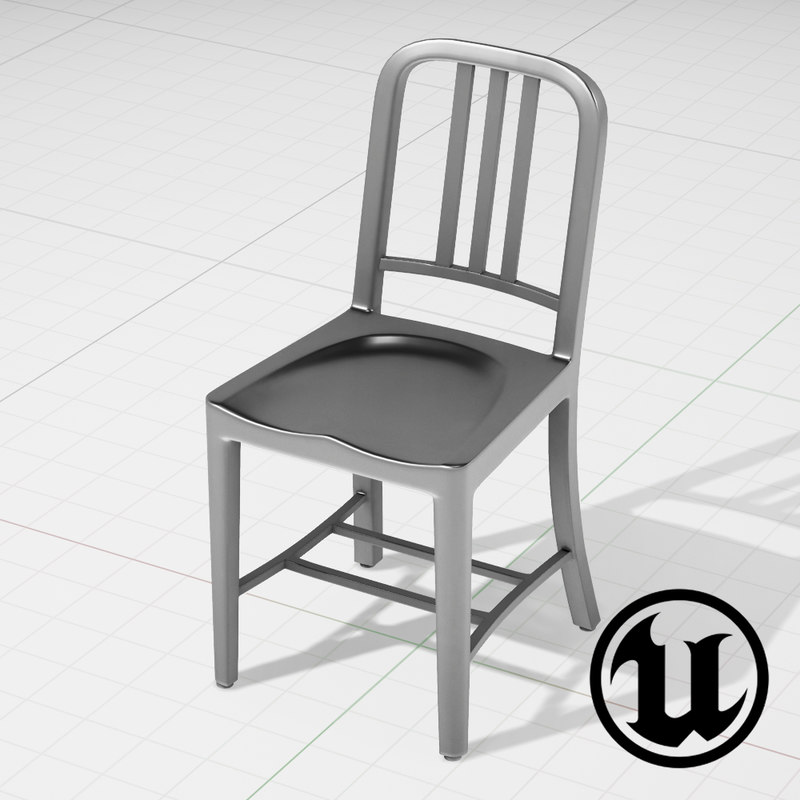 unreal 1006 navi chair 3d model