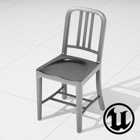 unreal 1006 navi chair 3d model