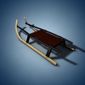 stylish sledge 3d 3ds