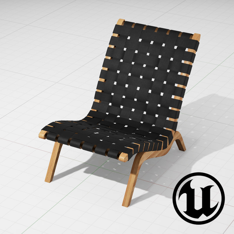 unreal grant featherston relaxation 3d model