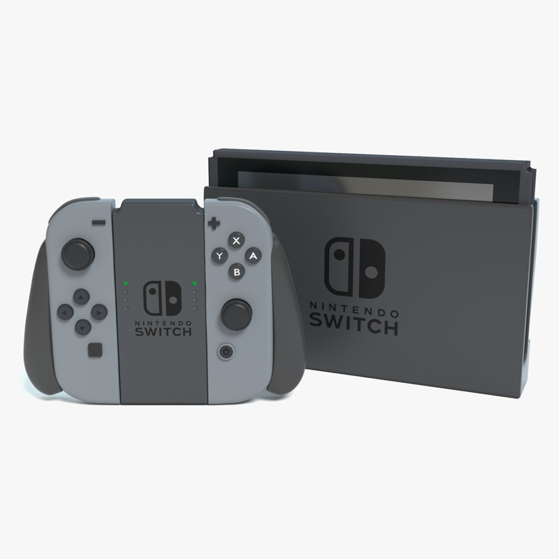 new nintendo switch 3d max