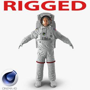 3d astronaut nasa extravehicular mobility