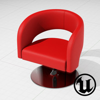 3ds unreal swivel furniture design