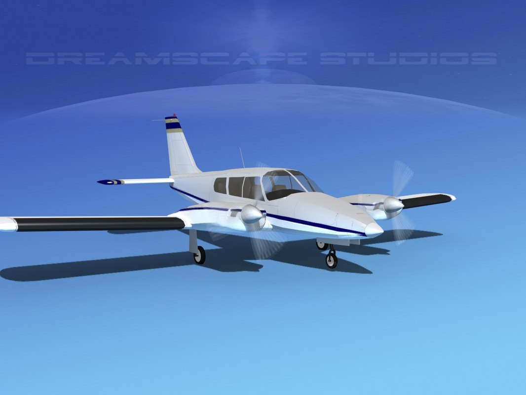 3ds propeller pa-34 seneca