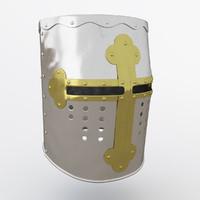 helmet templar 3d model