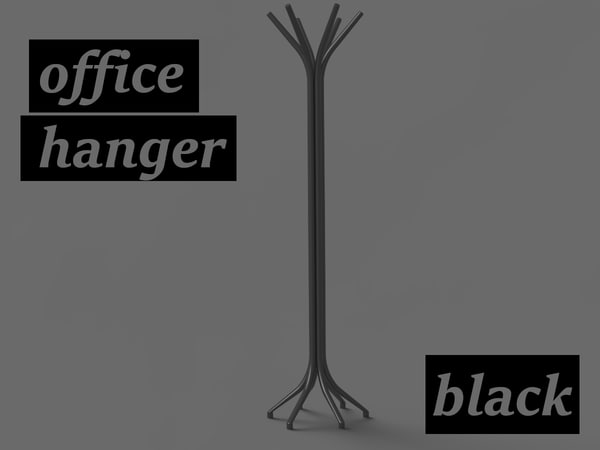 realistic office hanger max free