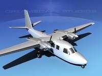 propellers aero commander 560 dxf