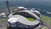 3D emazing stadium