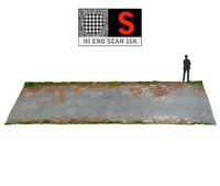 3d model park path 16k